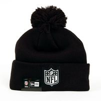 New Era Logo Shine Bobble NFL Logo Winter Cap