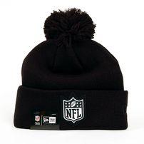 New Era Logo Shine Bobble NFL Logo Winter Cap