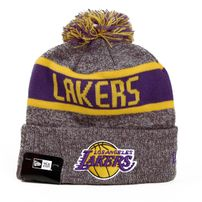 New Era NBA Marl Knit LA Lakers Grey