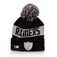 New Era Team Tonal Knit OAK Raiders Navy Silver