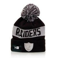 New Era Team Tonal Knit OAK Raiders Navy Silver