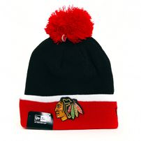 New Era TM Cuff Bobble Chicago Blackhawks