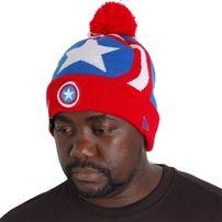 New Era Woven Biggie Captain America Knit