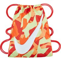 Nike Graphic Gym Sack Bright Mandarin Track Red White