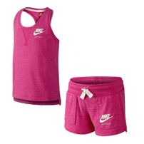 Nike Gym Vitage Tank And Shorts Set Little Girls 728841-616