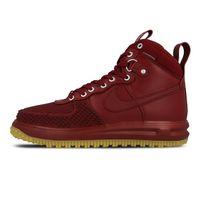 Nike Lunar Force 1 Duckboot Shoe Team Red Gum Light Brown 805899-600
