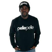 Pelle Pelle Back 2 The Basics Crewneck Black PM2061304-005