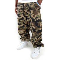 Pelle Pelle Basic Cargo Pants Wood Camo PM1131503-423