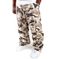 Pelle Pelle Bukser Basic Cargo Pants Desert Camo PM1131401-521