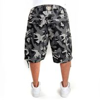 Pelle Pelle Cargo Shorts City Camo