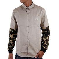 Pelle Pelle Hybrid Work Shirt Beige