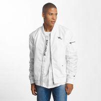Rocawear / Bomber jacket Dariusz in white