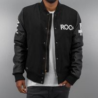 Rocawear / College Jacket Baseball in black