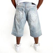 Rocawear Double R Short Aqua Blue Wash
