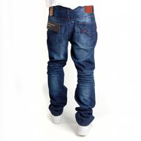 Rocawear Fashion Relaxed Fit Denim Mid Wash R00J9911E-822