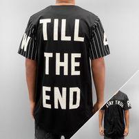 Rocawear / Shirt Baseball in black