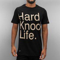 Rocawear / T-Shirt Hard Knock Life in black