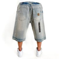 Southpole Minder LA Short Light Wash