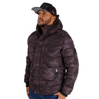 Southpole Outwear Winter Jacket grey Black 17321-5501-3001