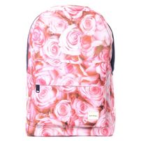 Spiral 21 Roses Backpack Bag Pink