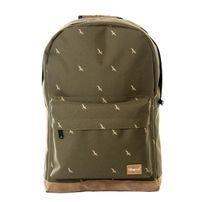 Spiral Bird Backpack Bag Olive