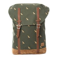 Spiral Bird Hampton Backpack Bag Olive