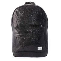 Spiral Black Glamour Backpack Bag