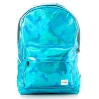 Spiral Blue Unicorns Backpack Bag