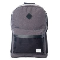 Spiral Charcoal Black Mesh SP Backpack Bag