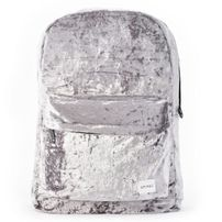 Spiral Crushed Velvet Mist Backpack Bag