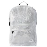 Spiral Glamour Backpack Bag Silver