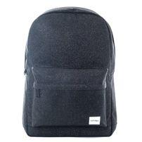 Spiral Glitter Backpack Bag Black
