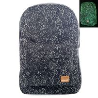 Spiral Glow In The Dark Speckles Backpack Bag