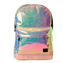 Spiral Holographic Backpack Bag