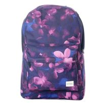 Spiral Midnight Waterflower Backpack Bag