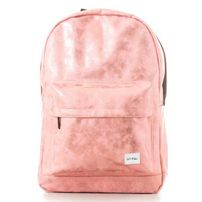 Spiral Rose Gold Backpack Bag