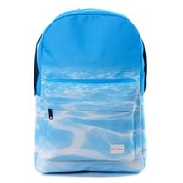 Spiral Seabed Backpack Bag Blue