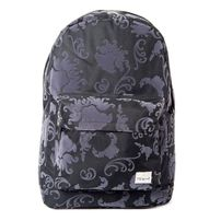 Spiral Tattoo Flock Black Backpack Bag