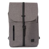 Spiral Tribeca Crosshatch Grey-Black Backpack Bags