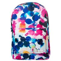 Spiral Watercolour Backpack Bag