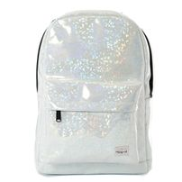 Spiral White Diamond Backpack Bag