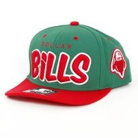 Starter Dollar Bills Snapback Green Red