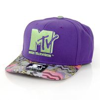 Starter MTV Retro Print SB Purple Green