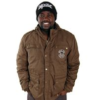 Thug Life Army Jacket Green TLF13J05-606