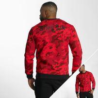 Thug Life Attack Sweatshirt Red