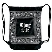 Thug Life Bandana Gym Bag