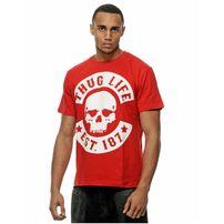 Thug Life Big Logo Tee Red