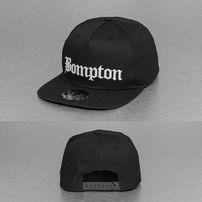 Thug Life Bompton Snapback Cap Black