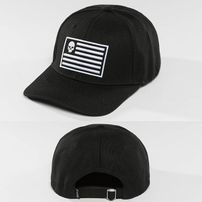 Thug Life / Fitted Cap Flag in black