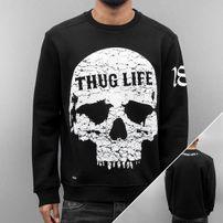 Thug Life Getosthug Sweatshirt Black Black